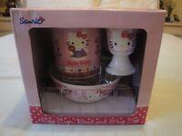 Sanrio Hello Kitty Egg, Cup, Bowl Set - never used