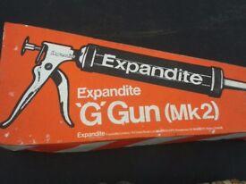 Expandite gun