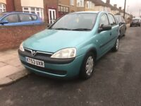 2003 53 VAUXHALL CORSA DIESEL 5door LONG MOT VERY GOOD CONDITION