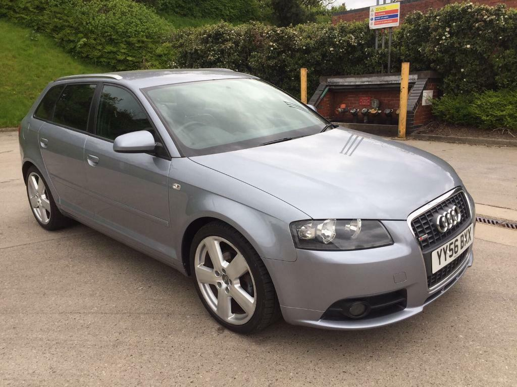 audi a3 s line tdi sportback 2 0 diesel 5 door 2006 year in bradford west yorkshire. Black Bedroom Furniture Sets. Home Design Ideas