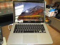 MacBook Pro,13INCH,MID2010,2.4GHZ,C2D,4GBRAM,250GBHD,WIFI,BLUETOOTH,FACETIME,10.13.6 OS,WITH CHARGER