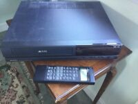 Matsui VHS Video recorder and player - with lots of tapes - 75 in all.....!