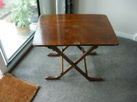 SMALL FOLDING TABLE 24 X 18 INCHES