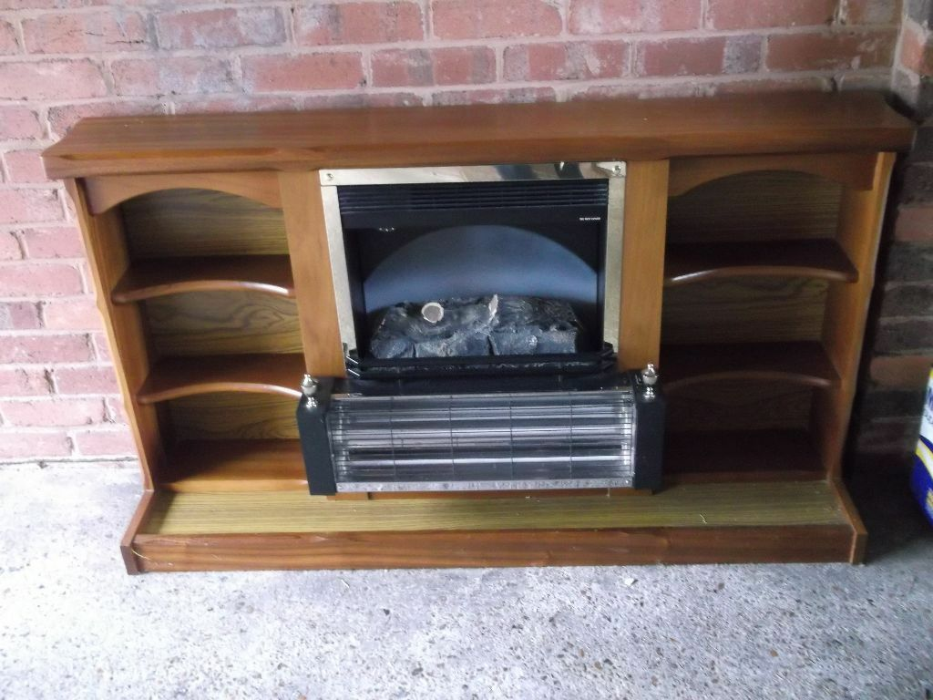 coal effect two bar 1970s fire surround in exeter devon gumtree