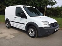 FORD TRANSIT CONNECT 1.8 TDCI T200 SHORT WHEEL BASE 2010 60 REG NEW SHAPE , P/X WELCOME ,