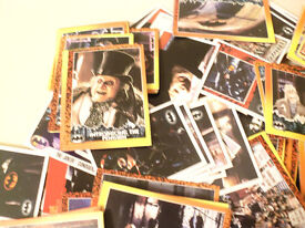 TOPPS BATMAN RETURNS MOVIE PHOTO CARDS - 1992 ALL IN GOOD CONDITION - 270 IN TOTAL