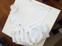 White school polo t-shirt 3 to 4year