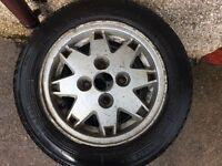 classic mini alloy wheels