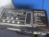 ZOOM G7.1UT guitar effects console