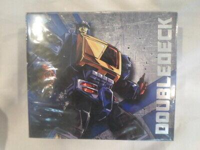 Transformers KFC Toys Doubledeck ( Masterpiece Twincast ) Blaster MISB New USA