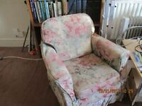 FREE 3 piece suite : sofa and armchair