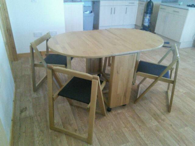 Argos Light Oak Effect Dining Table With 4 Chairs In Dornoch Highland Gumtree
