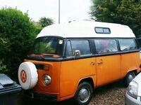 VW T2 BAY Campervan conversion