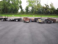 Various Car Trailers