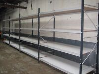 ALL INDUSTRIAL SHELVING AND LONGSPAN WANTED!! CASH PAID! (PALLET RACKING , STORAGE )