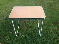 Small folding camping / picnic table