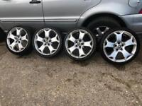 Vauxhall Vrx snowflake 19' alloys&tyres