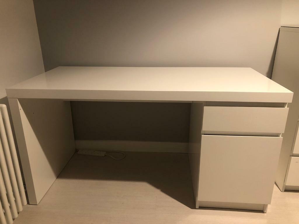Ikea Malm Desk In Banchory Aberdeenshire Gumtree