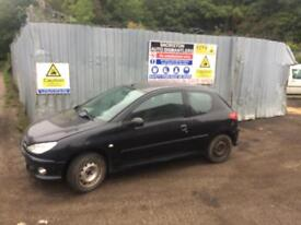 breaking for spares peugeot 206 1.1 2005