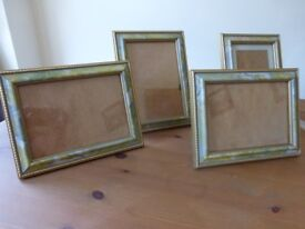 13 Assorted Picture frames in 4 sets