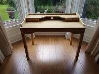 IKEA office/study desk, new, light brown colour. Delivery available.