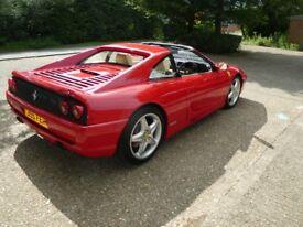 Ferrari 355 GTS Manual, 1994 33k miles with FSH. '355 FER' Registration optional.