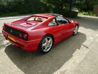 Ferrari 355 GTS Manual, 1994 33k miles with FSH. '355 FER' Registration optional.