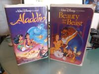 Rare Original VHS Walt Disney Black Diamond Vhs Videos