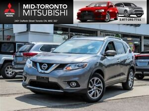 2014 Nissan Rogue SL AWD|Leather|Navigation|Panoramic Sunroof