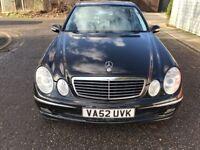 2002 Mercedes-Benz E Class @07445775115