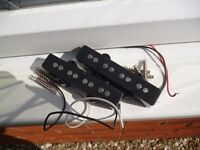Many guitar and bass guitar pickups for sale