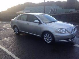 04 Toyota Avensis T3-S 1.8VVTi, 5 Door Hatch in Silver 92,000 miles, 10 months MOT, Superb Condition