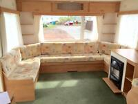 GREAT STARTER CARAVAN FOR SALE ON SEA VIEW PARK ON NORTHUMBERLAND COAST.