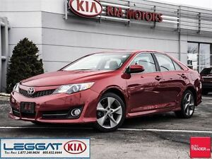 2013 Toyota Camry SE - One Owner, No Accident, Leather, Sunroof