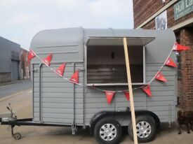 VINTAGE RICE HORSE / CATERING TRAILER