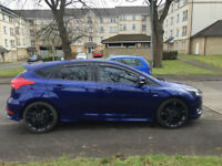 2017 FORD FOCUS ST LINE 1.0 ECOBOOST TURBO STUNNING INSIDE AND OUT SATNAV NEW TYRES 125 BHP