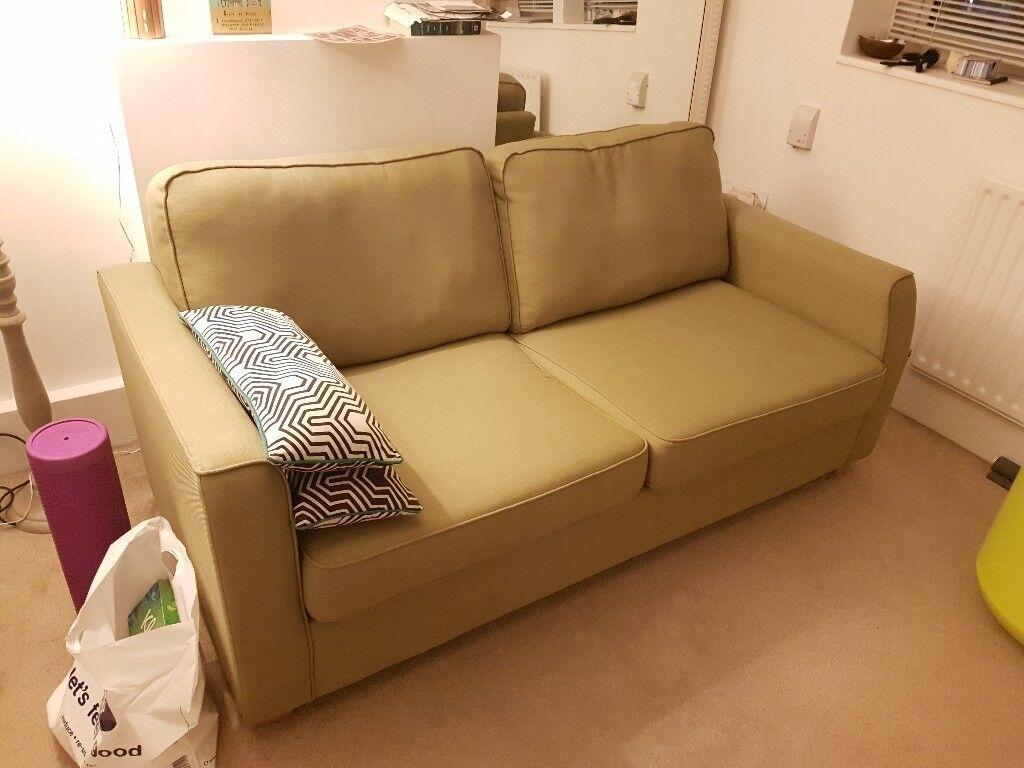 Debenhams sofa bed as new in waterloo london gumtree for Sofa bed gumtree london
