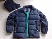 GANT 'Preppy' Goose DOWN Jacket - Winter Coat - As New (Size Mens Medium)