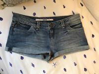 Topshop denim shorts 12