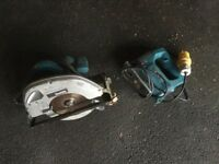 110 nakita skill saw and jig saw, good condition, selling as I no longer require them