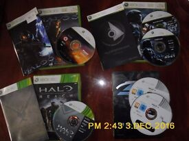 Halo collection Xbox 360 - 4 games