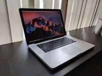Apple MacBook Pro 15' 2.3GHz i7 4GB Ram 500GB HDD AutoCad Rhinoceros CorelCad Vectorworks 2017 Quark