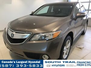 2013 Acura RDX AWD - 3M, LEATHER, WINTER TIRES