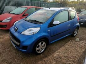 PEUGEOT 107 AUTOMATIC - LOW MILES - LOVELY SMALL AUTO