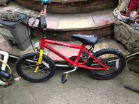 Kids bike with stabilizers £8