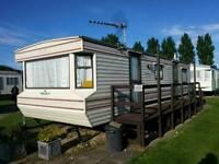 Caravan to rent Golden palm resort Chapel St Leonards