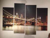 Brooklyn bridge canvas's