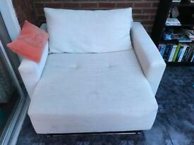 1-2 seater 'cuddle chair' - Excellent condition
