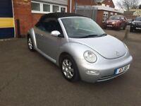 2004 Volkswagen Beetle convertible 1.9 tdi 12 months mot/3 months parts and labour warranty