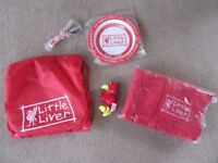 BRAND NEW / Liverpool Football Club (LFC) Baby Bag, Fleece Blanket, Plate & Cutlery Gift Set